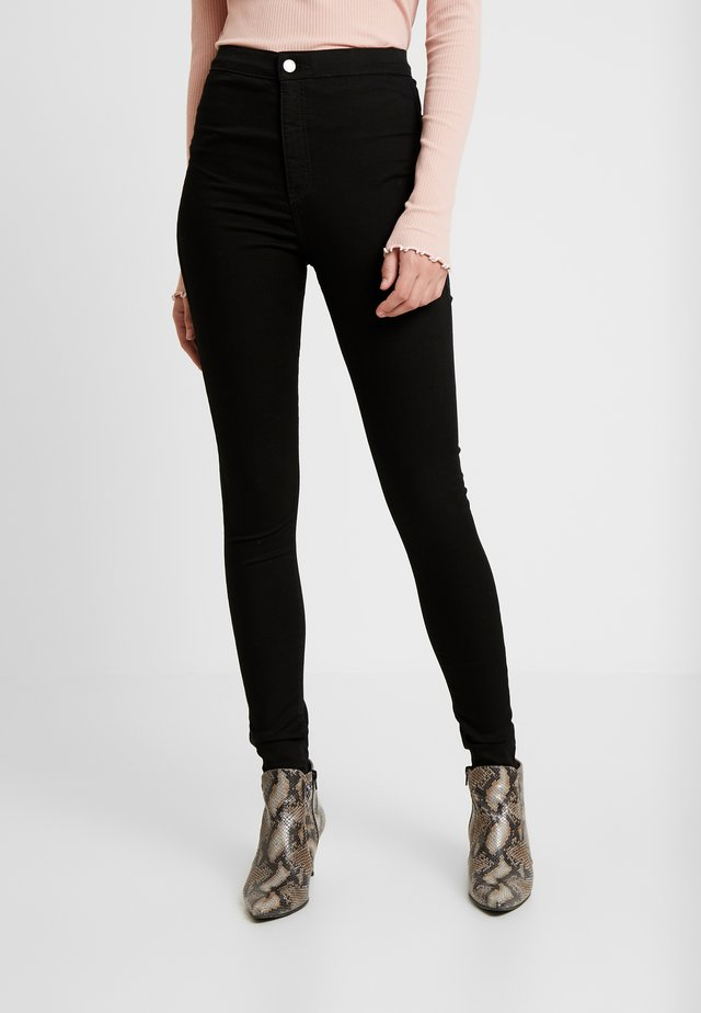 PURE JONI CLEAN - Jeans Skinny - pure black