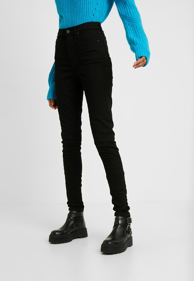 PURE JAMIE CLEAN - Jeans Skinny - pure black