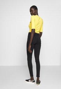 Topshop Tall - JAMIE CLEAN - Skinny džíny - black - 2