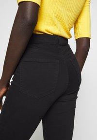 Topshop Tall - JAMIE CLEAN - Skinny džíny - black - 4