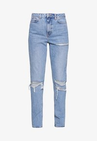 Topshop Tall - MOM TOKYO RIP - Jeans straight leg - bleach - 3