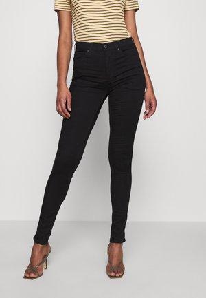 LEIGH CLEAN - Skinny džíny - black