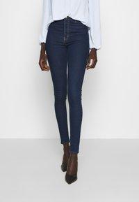 Topshop Tall - JONI CLEAN - Jeans Skinny Fit - indigo - 0