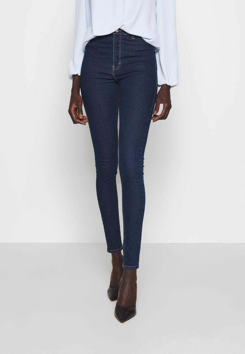 Topshop Tall - JONI CLEAN - Jeans Skinny Fit - indigo