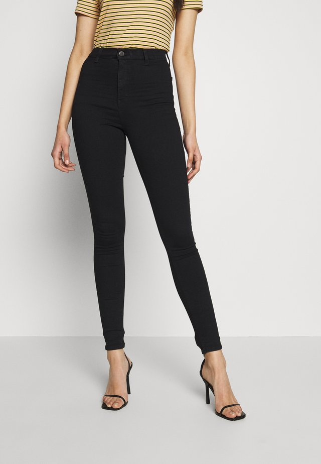 JONI CLEAN - Jeans Skinny Fit - black