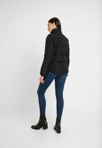 Topshop Tall - JACK HOOD PUFFER - Zimní bunda - black - 4