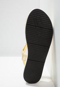 Tommy Jeans - FRESH MODERN  - Sandály na platformě - yellow - 6
