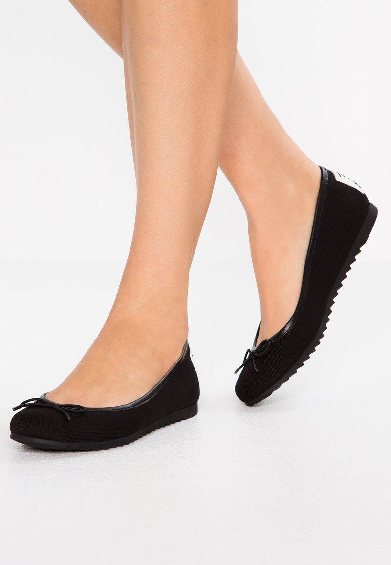 Tommy Jeans - Ballet pumps - black