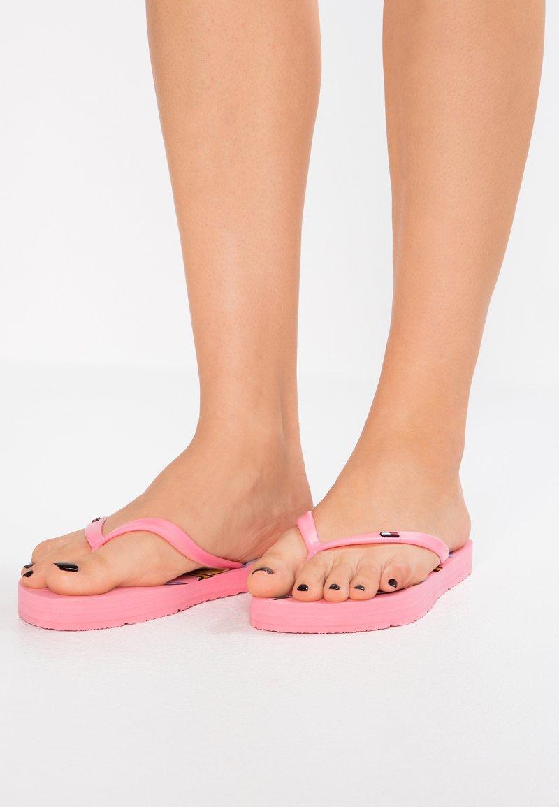 Tommy Jeans - ICE CREAM BEACH - Infradito da bagno - pink