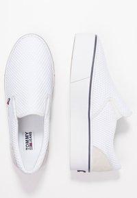 Tommy Jeans - CITY  - Nazouvací boty - white - 3