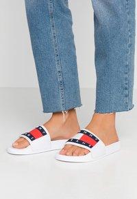 Tommy Jeans - BUBBLE - Muiltjes - white - 0