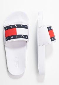 Tommy Jeans - BUBBLE - Muiltjes - white - 3