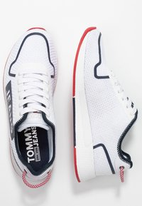Tommy Jeans - TECHNICAL FLEXI  - Sneakers laag - red - 3