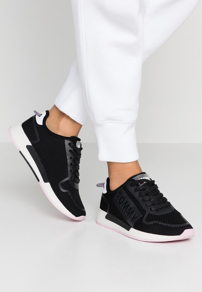Tommy Jeans - TECHNICAL FLEXI  - Trainers - black