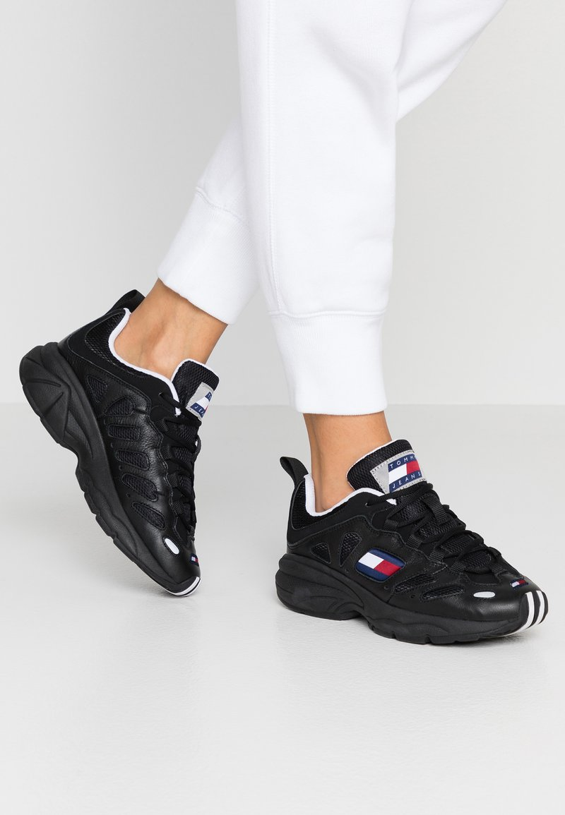 Tommy Jeans - RETRO  - Trainers - black