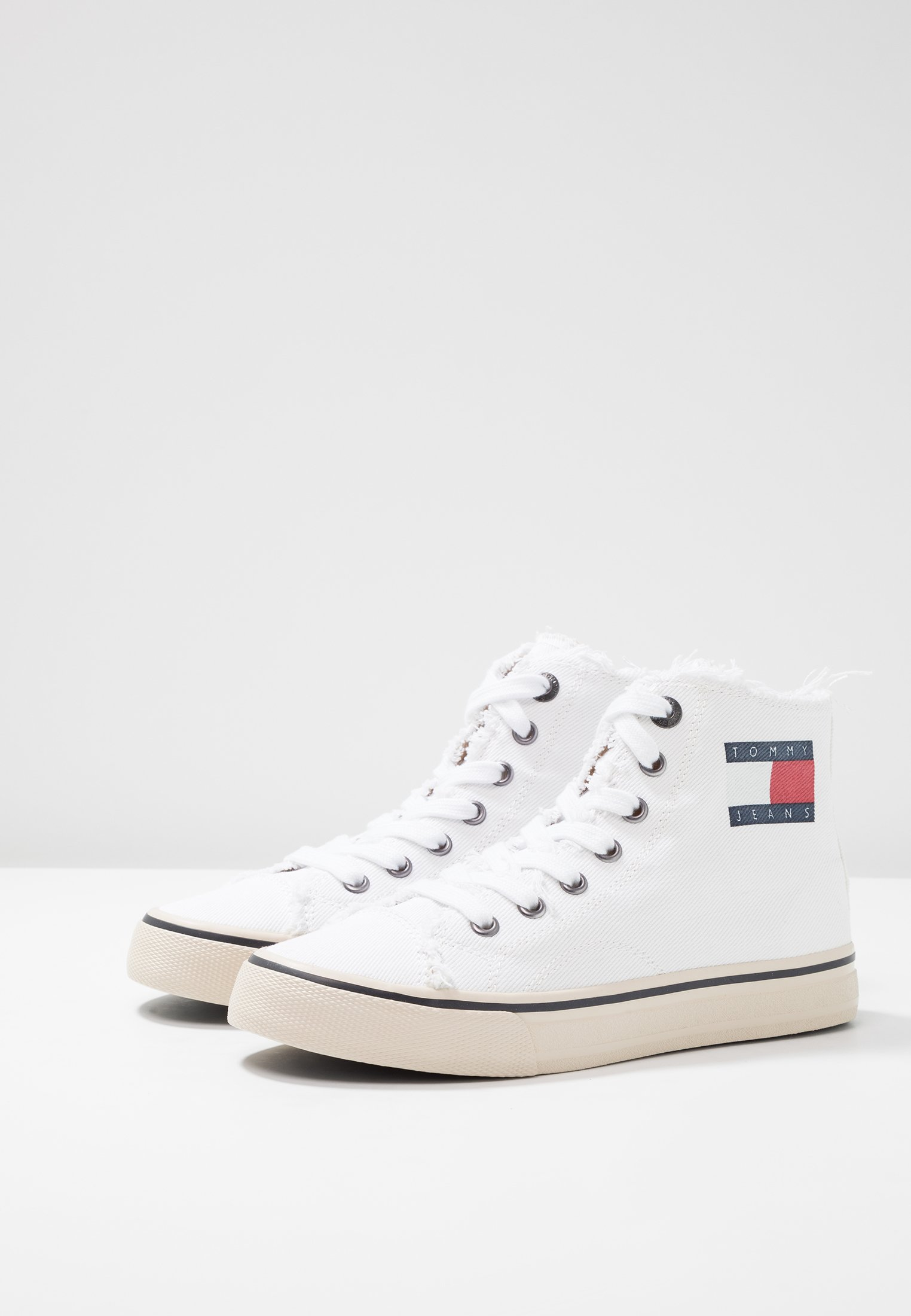 MontantesWhite Jeans Jeans MontantesWhite Tommy Baskets Baskets Tommy Tommy tshrQd