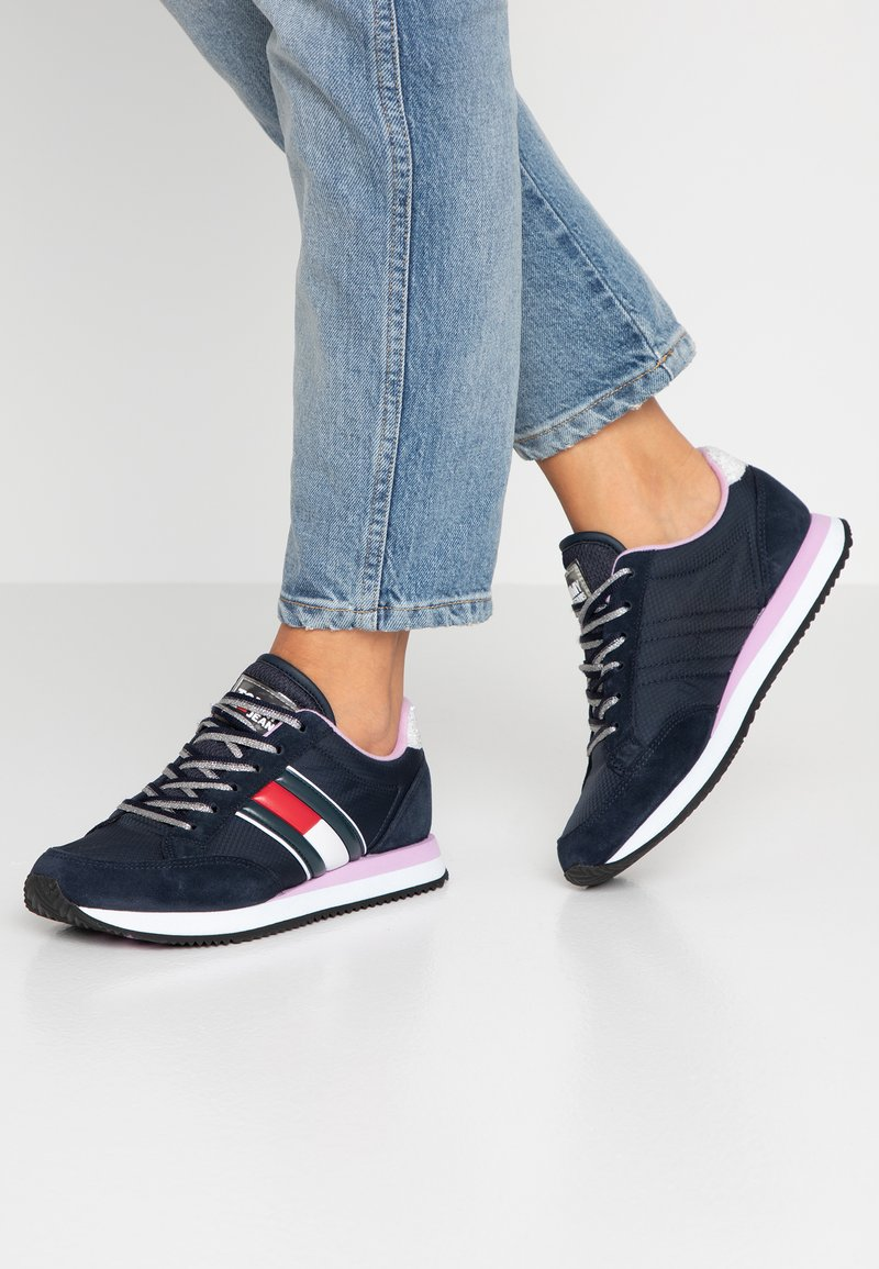 Tommy Jeans - WMNS CASUAL RETRO  - Baskets basses - blue