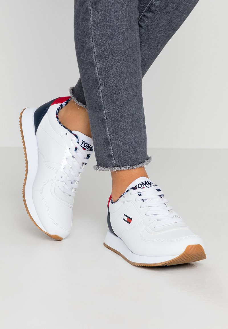 Tommy Jeans - STEVIE - Sneakers basse - red/white/blue