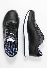 Tommy Jeans - WMNS CASUAL TOMMY JEANS SNEAKER - Baskets basses - black - 3