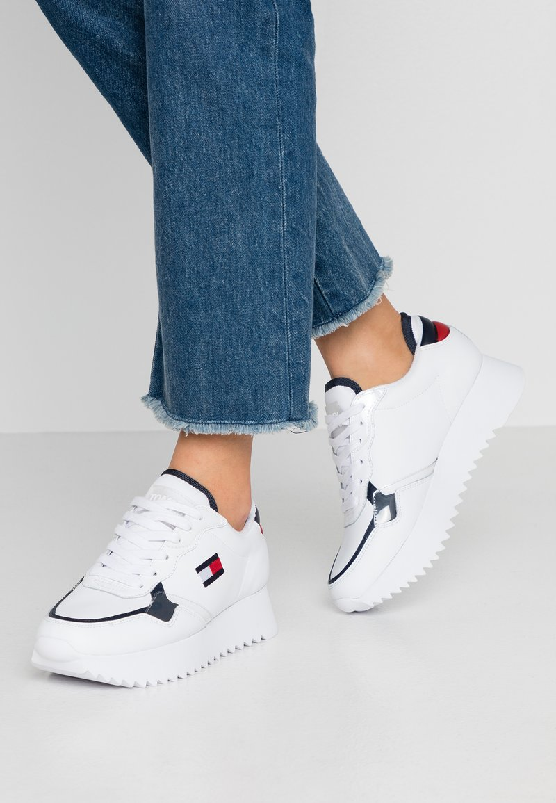 Tommy Jeans - IMOGEN  - Sneakers - red/white/blue