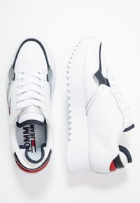 Tommy Jeans - IMOGEN  - Sneakers - red/white/blue - 3