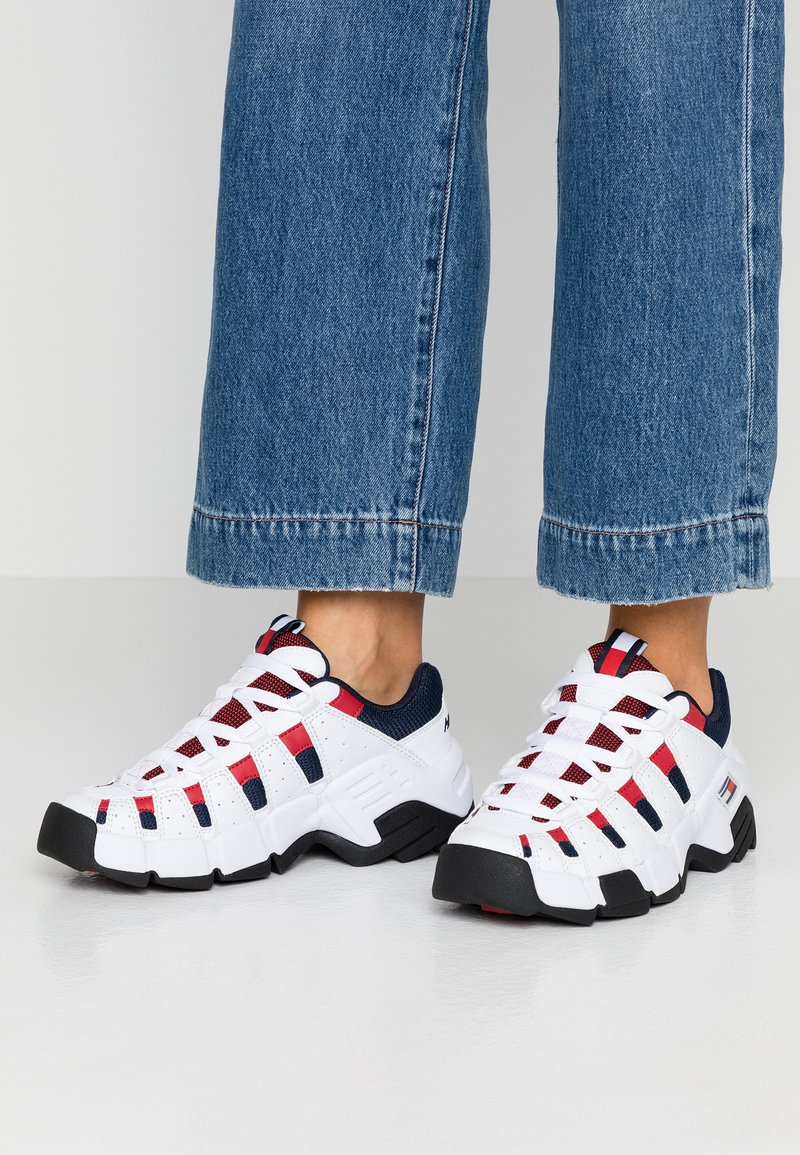 Tommy Jeans - JAWZ  - Trainers - red/white/blue