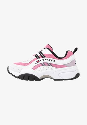 HERITAGE TOMMY JEANS WMNS RUNNER - Tenisky - bubble pink