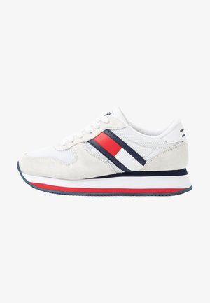 FLATFORM RUNNER COLOUR SNEAKER - Zapatillas - red/white/blue