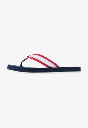 RECYCLED BEACH SANDAL - Flip Flops - twilight navy