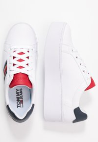 Tommy Jeans - TOMMY JEANS ICON SNEAKER - Baskets basses - red/white/blue - 3