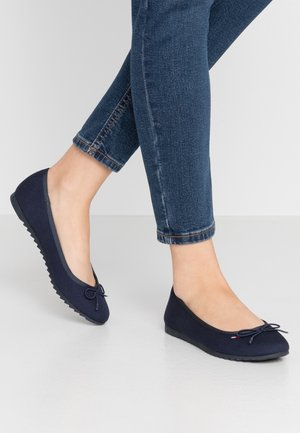 COLOR BLOCK BALLERINA - Ballerina's - twilight navy