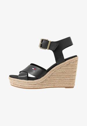 LUNA - Sandalen met hoge hak - black