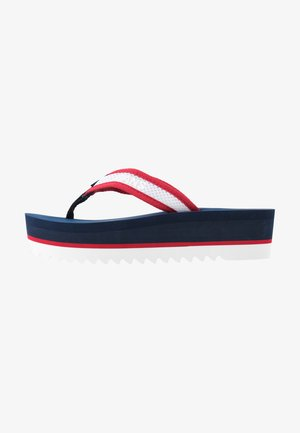 RECYCLED MID BEACH SANDAL - Sandalias de dedo - twilight navy