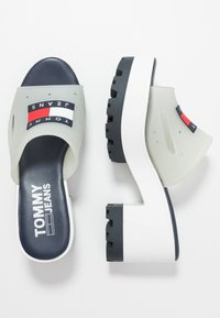 Tommy Jeans - JANE  - Heeled mules - white - 3