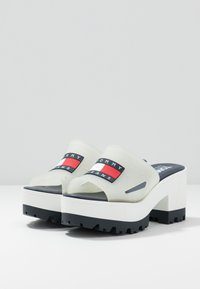 Tommy Jeans - JANE  - Heeled mules - white - 4