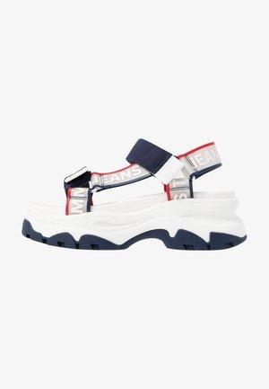 POP COLOR HYBRID SANDAL - Platform sandals - twilight navy