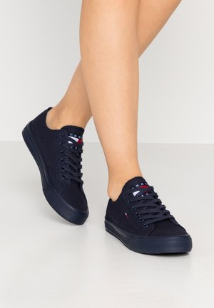 LONG LACE UP - Sneakersy niskie - twilight navy