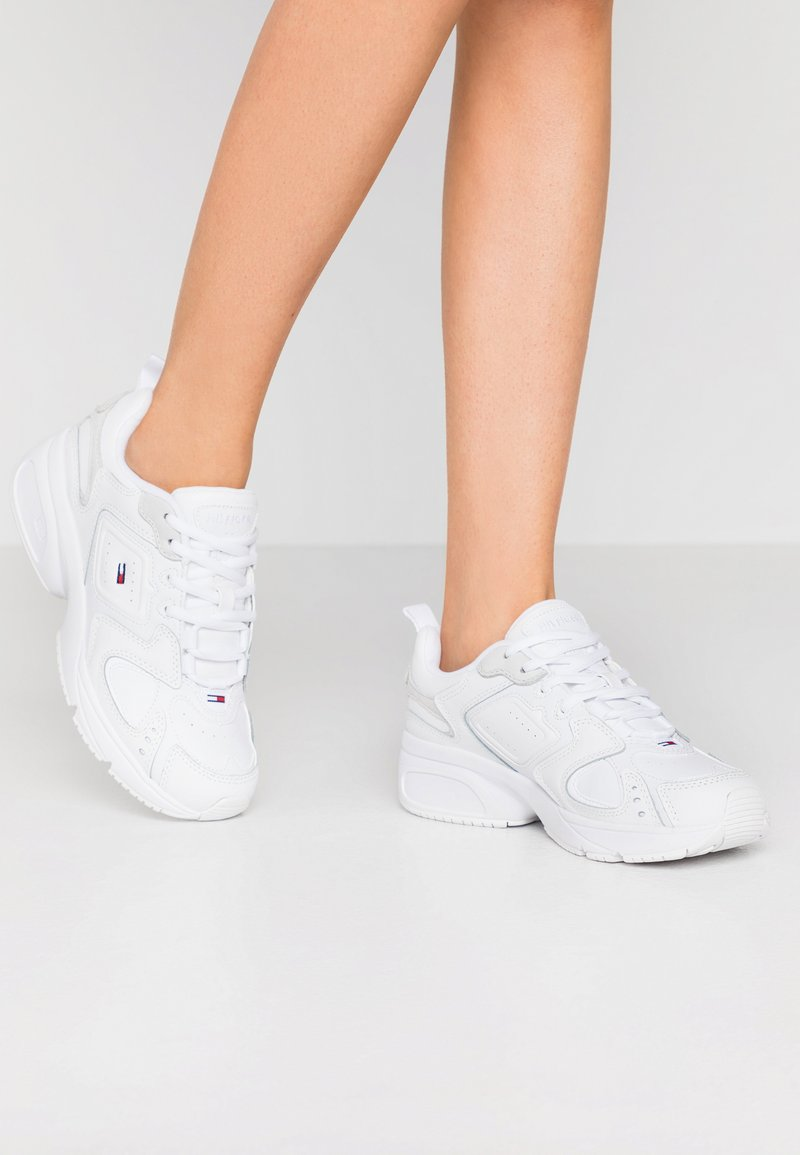 Tommy Jeans - HERITAGE  - Sneakers - white