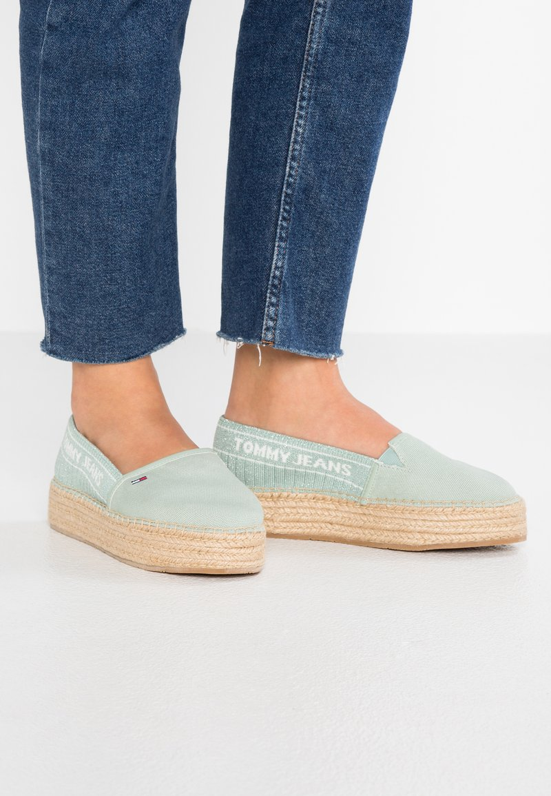 Tommy Jeans - Espadrilles - green