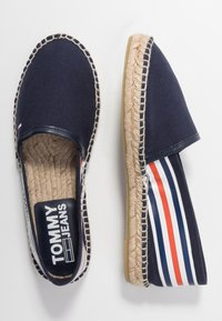 Tommy Jeans - CHUNKY TAPE ESPADRILLE - Espadrilles - twilight navy - 3