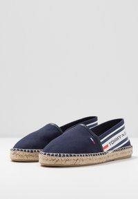 Tommy Jeans - CHUNKY TAPE ESPADRILLE - Espadrilles - twilight navy - 4