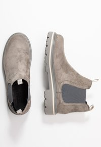 Tommy Jeans - REFLECTIVE DETAIL CHELSEA BOOT - Ankelboots - grey - 3