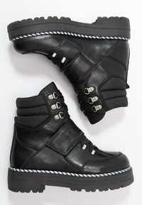 Tommy Jeans - ELEVEN 2C - Cowboystøvletter - black - 3