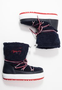Tommy Jeans - SIGNATURE SNOWBOOT - Winter boots - blue - 3