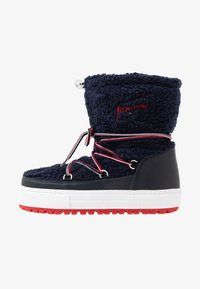 Tommy Jeans - SIGNATURE SNOWBOOT - Winter boots - blue - 1