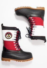 Tommy Jeans - HERITAGE DUCKBOOT - Winter boots - red - 1