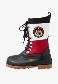 Tommy Jeans - HERITAGE DUCKBOOT - Winter boots - red - 0
