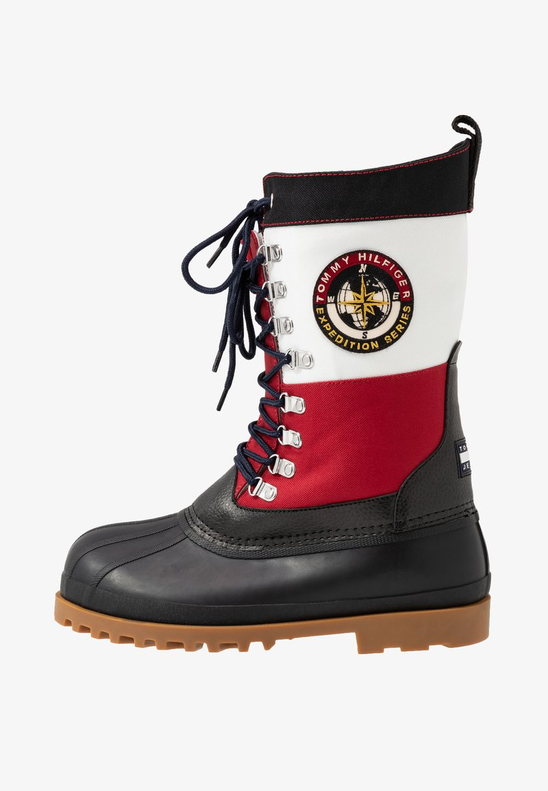 Tommy Jeans - HERITAGE DUCKBOOT - Winter boots - red