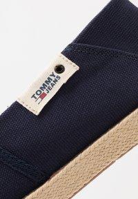 Tommy Jeans - SUMMER SHOE - Espadrilles - blue - 5