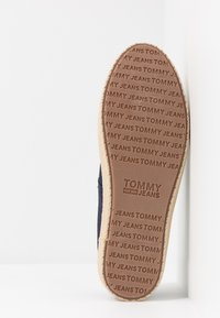 Tommy Jeans - SUMMER SHOE - Espadrilles - blue - 4